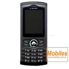 Sharp GX17 - Full phone specifications