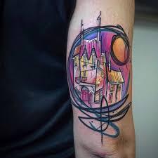 Watercolor Tattoo Barevné Tetování