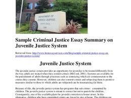 juvenile justice essay juvenile justice essay urban fuse caf sample criminal justice essay on juvenile justice system