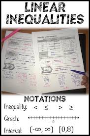 inequalities multi step and compound lesson