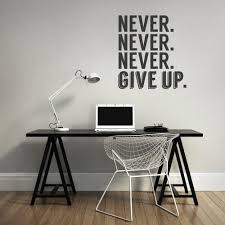 office wall stickers. Splendid Office Wall Stickers India Never Give Up Ideas: Full Size N