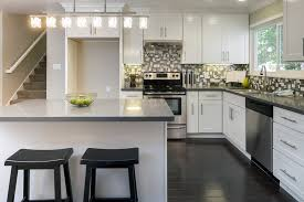 contemporary l shaped kitchen design