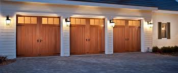 canyon ridge collection insulated carriage house garage doors