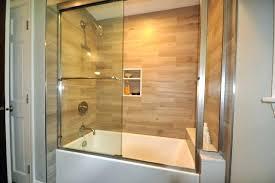 acrylic tub surrounds bathtub surround plank tile tub surround project contemporary bathroom bathtub surround kit bathtub