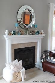 My #QuickandEasy Living Room: Before & After Makeover. Mantels  DecorFireplace ...