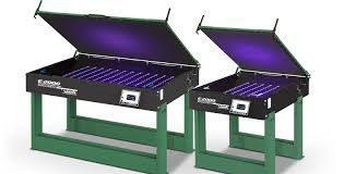 e 2000 led screen exposing unit with optional utility cart