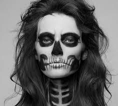 how to make skeleton makeup