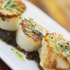 Olive Oil Seared Scallops Recipe