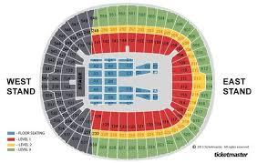 Fleetwood Mac Canadian Tire Centre Seating Chart Recap As Fleetwood Mac Tickets At Londons Wembley Stadium