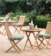 teak bistro table and chairs. Solid Teak Outdoor Folding Bistro Table And Chairs