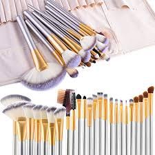 make up brushes vander life 24pcs premium cosmetic makeup brush set for foundation blending blush