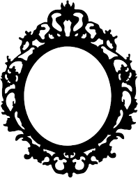 Image Drawn The Little Mermaid Mirror Frame Drawing