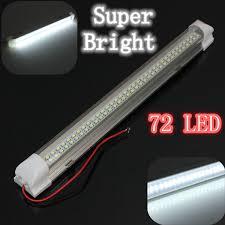 12 Volt Lighting Parts 12v Universal Car Auto Caravan Interior 72 Led White Light