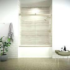 delta glass shower door installation levity shower door stylish bathtub doors levity shower door installation ideas