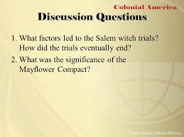 critical thinking questions salem witch trials, Compare and ...