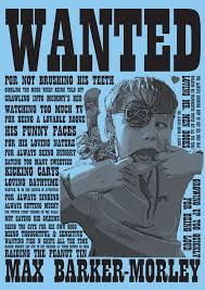 Wanted Poster Say It With Words