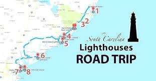 Carolina Coast Map Pergoladach Co