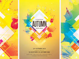 Fall Flyer Autumn Flyer By Stylewish On Dribbble