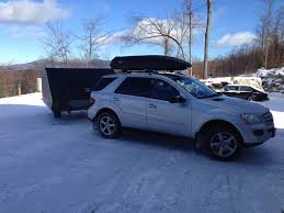 mercedes ml roof racks roof rack and cargo box mbworld org forums