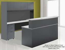 wrap around office desk. 72 wraparound custom reception desk w left bridge wrap around office s