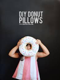diy donut pillows