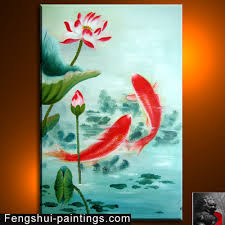feng shui paintings for office. koipainting feng shui paintings for office