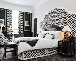 Modern Black And White Bedroom Bedroom Modern Black White Bedroom Ideas With Black Fabric Plain
