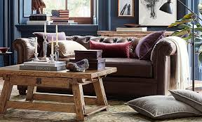 how to decorate a leather couch