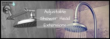 a guide for adjule shower arms and extensions