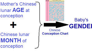Chinese Baby Gender Selection Chart How To Conceive A Baby Boy Or Girl Using Chinese Calendar