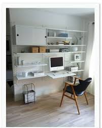 home office shelving systems. string system, home office, white office shelving systems