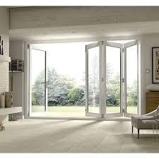 exterior folding patio doors. wickes burman finished folding patio door white 10ft wide reversible exterior doors