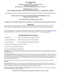 Sample Hvac Proposal Template
