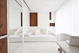 home white. Home White. Beautiful White Office In Interior Design Ideas