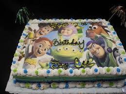 Toy Story Birthday Cream Cake With Photo B0264 Circos Pastry Shop