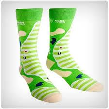 sock it to me par 4 mens crew socks