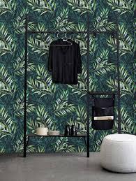 10x Interieurs Met Een Groene Muur In 2019 Behangpapier Groen