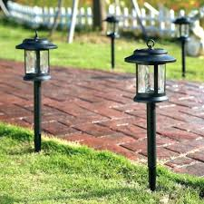 cool pathway lighting kits outdoor inches high black heatproof glass shade led solar power path lights63