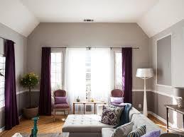 Purple And Gray Living Room Photo Page Hgtv