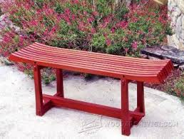 japanese garden furniture. Japanese Garden Bench Plans - Outdoor Furniture And Projects | WoodArchivist.com C