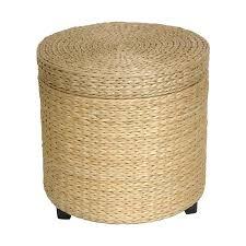 fiber furniture. oriental furniture fiber weave coastal natural round ottoman