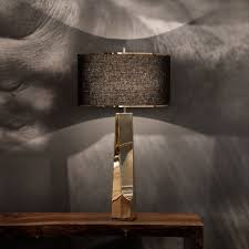 hudson furniture lighting. hudson furniture table lamp contemporary metal liberte by barlas baylar lighting