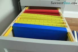 hanging file drawer.  Drawer How To Make A Hanging Folder Drawer Intended Hanging File Drawer