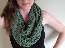 Knitted Infinity Scarf Pattern Amazing Ideas