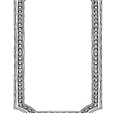 Paper Picture Frame Templates Free Printable Picture Frame Paper Template Frames Templates Pap