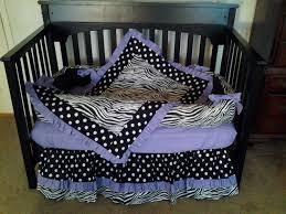purple chevron baby girl bedding and gray sets