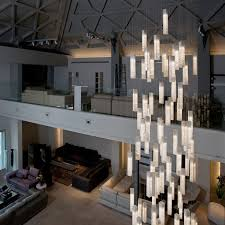 chandeliers for high ceilings pixball