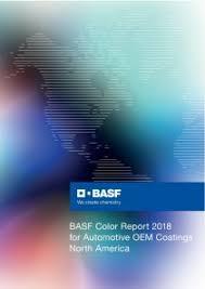Basf Analyzes The 2018 Automotive Color Distribution