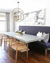 Lampadaire Design Pour Table Salle A Manger Avec Banc Belle Pourquoi