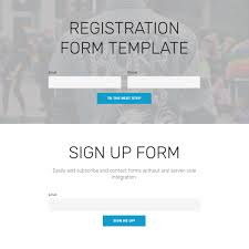 entry form templates free html bootstrap 4 registration form template